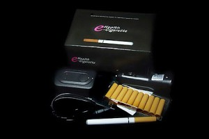 Electronic cigarette gold one kit